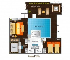 Two Bedroom Family Pool Villa