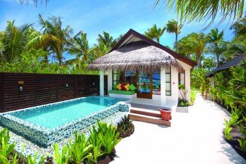 Honeymoon Water Suite with Pool (od 01.11.2019 Honeymoon SELECT Ocean Villa)