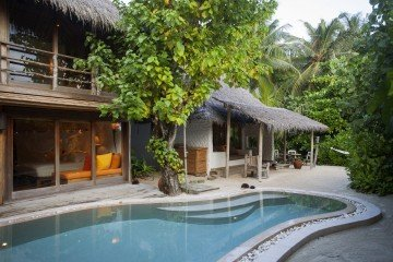 Soneva Fushi Villa Suite 2 Bedrooms with pool /*