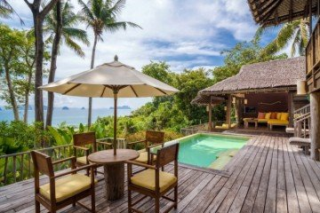Beachfront Pool Villa Suite