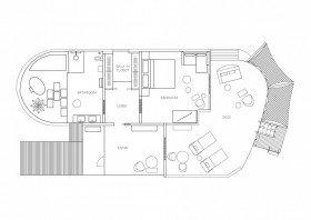 Water Villa (140 m²)