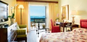 Superior Room with Sea View and private balcony (28 m²)