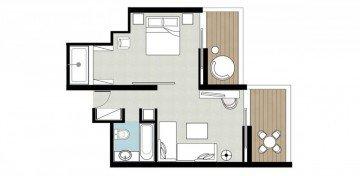 White Family Suite Sea View