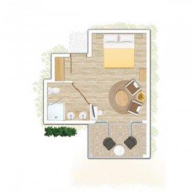 Standard Room Sea/ Garden