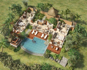 Luxury Suite Villa with Pool - 2 bedrooms