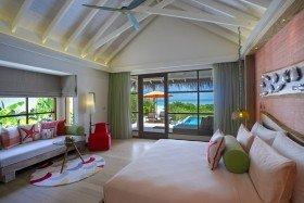 Honeymoon Water Suite with Pool (od 01.11.2019 Honeymoon SELECT Ocean Villa)