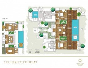 Celebrity Retreat - 3 bedrooms