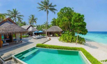 Family Beach Villa with Pool (2 bedrooms)