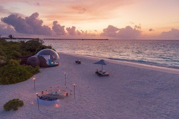 Beach Bubble Tent