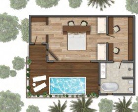 Garden Villa with Pool (150 m2 a bazén 4,2x2 m)