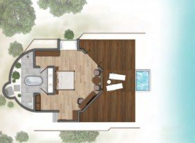 Water Villa (od 01.11.2019 Water Villa with plunge pool (150 m2)