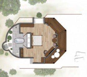 Beach Villa (77 m2)