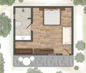 Deluxe Villa (55 m2)