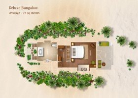 Deluxe bungalov