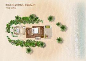 Beach Front Deluxe Bungalow