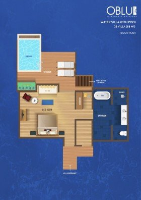 Beach Family Suite with Pool (od 01.11.2019 2 Bedroom Beach Pool Suite)