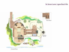 Lagoon Beach Villa (220 m2, max. 2 dospělí a 2 děti)