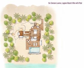 Lagoon Beach Villa with Pool (238 m2, max. 2 dospělí a 2 děti)