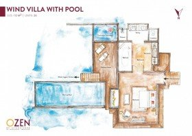 Wind Villa with Pool (112 m²)