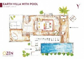 Earth Villa with Pool (185 m²)