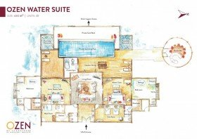 OZEN Water Suite (430 m²) (od 01.11.2019 - The OZEN Residence)