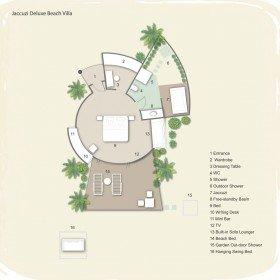 Jaccuzi Deluxe Beach Villas