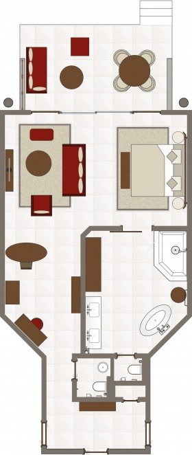 Tropical Suite (85 m²)