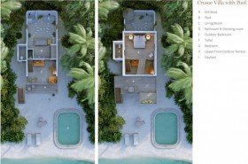 Crusoe Villa with Pool