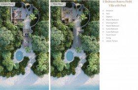 Soneva Fushi Villa 2 Bedrooms with pool /*