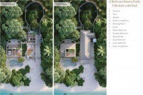 Soneva Fushi Villa Suite 2 Bedrooms with pool /*