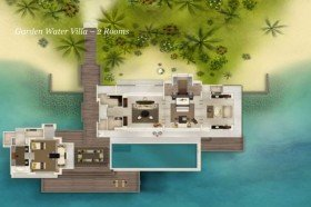 Garden Water Villa - 2 bedrooms