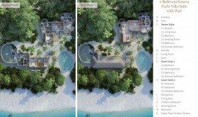 Soneva Fushi Villa Suite 4 Bedroom with Pool /***