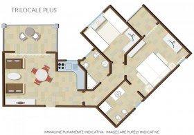 Třípokojový apartmán Plus