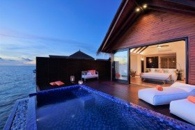 Ocean Pool Water Villa