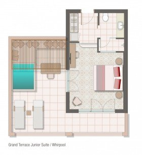 Grand Terrace Junior Suite (whirlpool)