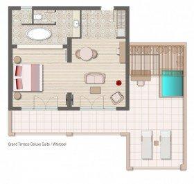 Grand Terrace Deluxe Suite Whirlpool