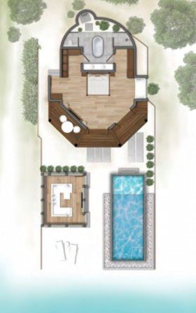 Maldivian Suite with pool (180 m2)