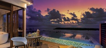 Sunset Beach Villa with Pool