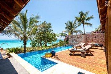 Luxusní třípokojová vila s výhledem na oceán