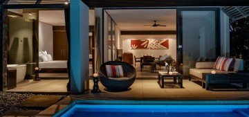 Two-Bedroom Club Suite with Plunge Pool