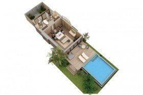 Garden Villa with Pool (150m2)