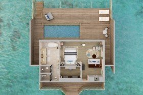 Overwater Villa with Pool (182 m2)