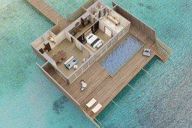 Overwater St. Regis Suite