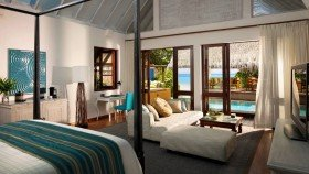 Oceanfront Bungalow with pool