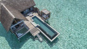 Sunrise Family Water Villa with Pool