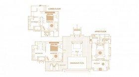 Hillside Ocean View Pool Villa Two Bedrooms (279 m2)
