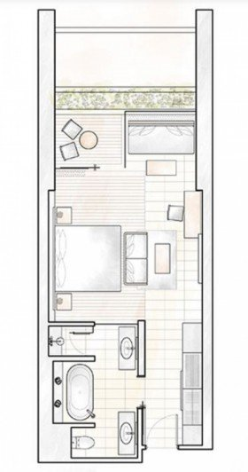 Deluxe Garden View Room (57 m²)