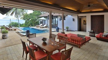 Beachside Private Pool Villa Two Bedrooms (350 m2)