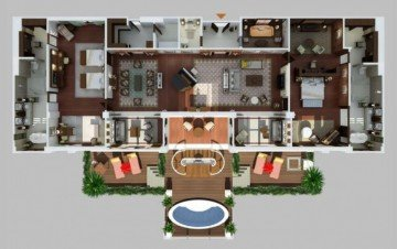 Grand Astor Suite (518m2, 4 osoby)