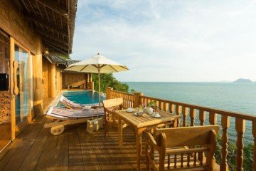 Two Bedroom Seawater Pool Villa